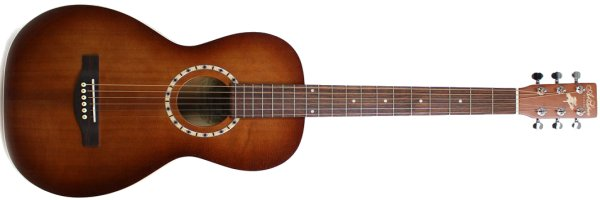 Фото Art & Lutherie Ami Cedar Antique Burst QI с чехлом