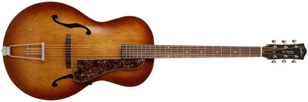 Фото Godin 5th Avenue Cognac Burst с кейсом