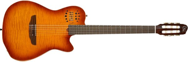 Фото Godin Multiac ACS Slim Light Burst HG