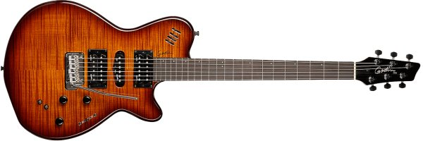 Фото Godin xtSA Light Burst Flame