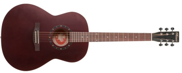 Фото Norman Protege B18 Folk Burgundy с кейсом